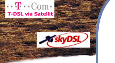 Surfen via Satellit mit Flatrate f�r das Internet